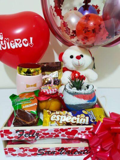 """Desayuno """"Amor y amistad"""" Galeria de imagen de producto_de foto_ desayunossorpresas.com"""