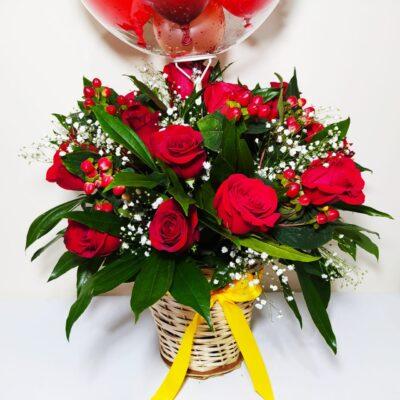 Arreglo floral Jardín de rosas Galeria de imagen de producto_de foto_ desayunossorpresas.com
