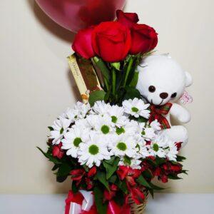 Arreglo floral de amistad Galeria de imagen de producto_de foto_ desayunossorpresas.com