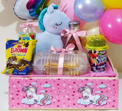 """Desayuno """"Unicornio"""" Galeria de imagen de producto_de foto_ desayunossorpresas.com"""