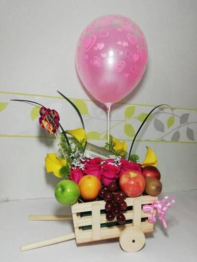 Detalle Carruaje y Frutas, Desayunos sorpresas.com, 1