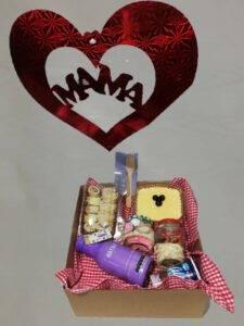 galeria de desayunos: Desayunos sorpresas desayuno te amo mamá, con postre de maracuyá: desayunossorpresas.com