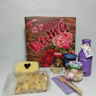 Desayunos sorpresas desayuno te amo mamá, con postre de maracuyá: desayunossorpresas.com