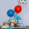 desayuno detalle con globos