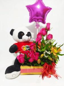 catalogo arreglos florales rosas de san valentin, desayunossorpresas.com