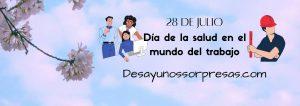 Dia de la salud en el mundo del trabajo